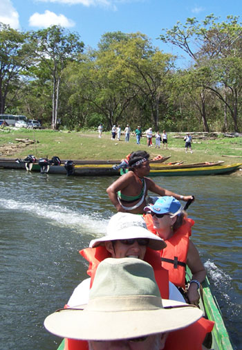 heading to the Embera Village